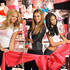 Models Erin Heatherton, Adriana Lima and Chanel Iman attend the Victoria's Secret Launch In Toronto at Yorkdale Shopping Centre on August 25, 2010 in Toronto, Canada.