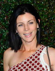 Liberty Ross wore her sleek tresses in a classic shoulder-length bob to the video premiere of 'My Valentine.'