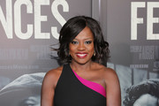 Viola Davis Leather Clutch