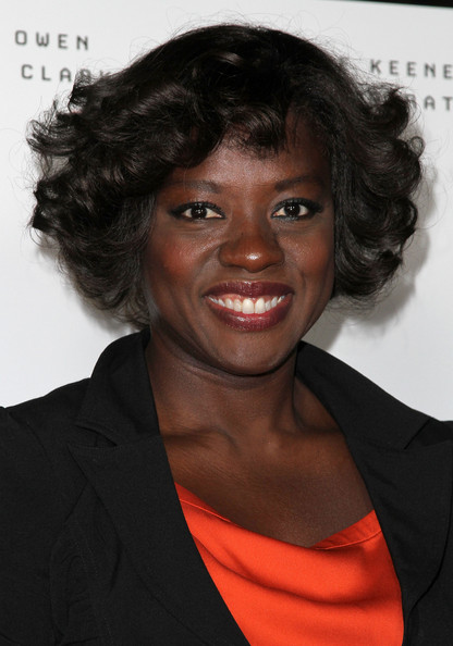 Viola Davis Curled Out Bob [hair,hairstyle,chin,black hair,smile,forehead,ringlet,long hair,jheri curl,arrivals,viola davis,trust,los angeles,california,millennium entertainment,screening of millennium entertainment,screening]