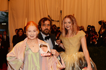 Vivienne Westwood Andreas Kronthaler Red Carpet Arrivals at the Met Gala