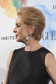 Carolina Herrera attended the Vogue Who's On Next party wearing a neat, short layered cut.
