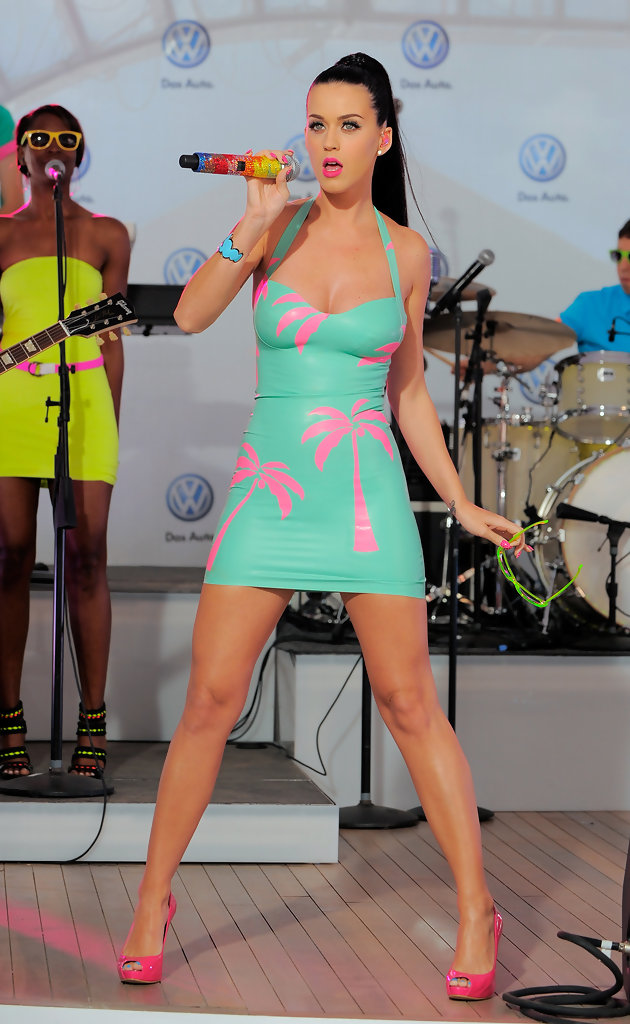 More Pics of Katy Perry Mini Dress (62 of 63) - Katy Perry ...