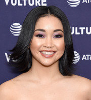 Lana Condor made her eyes pop with a swipe of pink shadow.