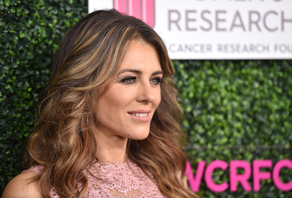 More Pics of Elizabeth Hurley Long Wavy Cut (1 of 18) - Long Hairstyles Lookbook - StyleBistro