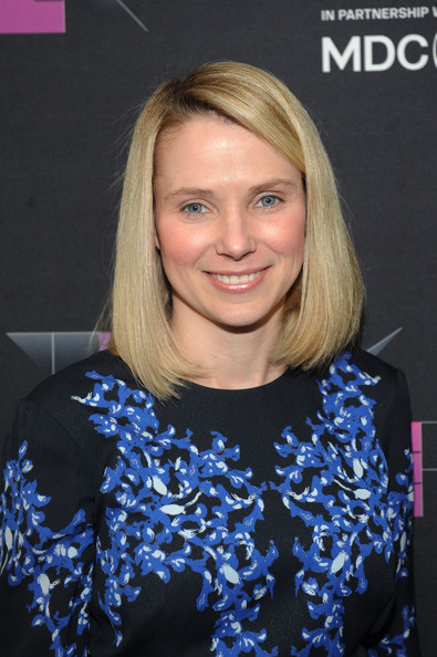 Marissa Mayer attended the Wired Business Conference wearing a super-neat mid-length bob.