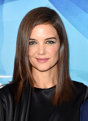 Katie Holmes attended the Stylemakers event wearing a glossy straight 'do.