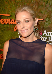 Jamie Tisch opted for a simple ponytail when she attended the Wallis Annenberg Center Inaugural Gala.