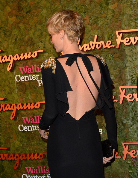 More Pics of Charlize Theron Evening Dress (1 of 12) - Charlize Theron Lookbook - StyleBistro