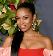 Susan Kelechi Watson sported a sleek ponytail at the Walt Disney Television Emmy party.