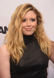 Natasha Lyonne sported mussed-up waves with side-swept bangs at the New York premiere of 'The Wannabe.'