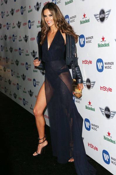 More Pics of Alessandra Ambrosio Evening Dress (1 of 2) - Alessandra Ambrosio Lookbook - StyleBistro
