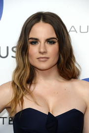 Jojo wore boho waves when she attended the Warner Music Group Grammy celebration.