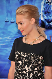 AnnaSophia pulled back her pretty blonde tresses into a French braided ponytail at the premiere of 'The Way, Way Back.'