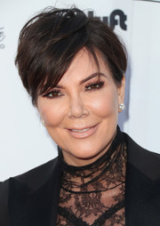 Kris Jenner sported a tousled 'do at the Wearable Art Gala.