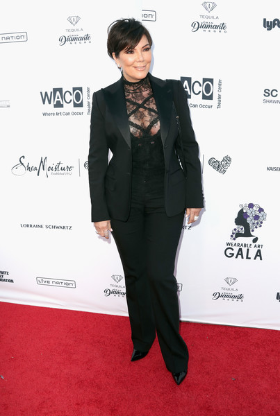 More Pics of Kris Jenner Pantsuit (1 of 4) - Suits Lookbook - StyleBistro