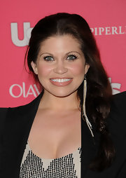 Danielle Fishel's long braided 'do added a girly touch to her sophisticated look during the Us Weekly Hot Hollywood event.