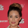 Lauren Conrad's Matte, Fire-Engine Red Lipstick
