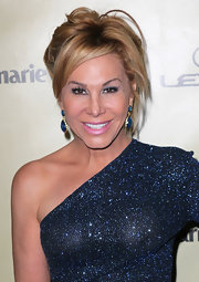 Adrienne Maloof was looking a little pale at the 2013 Golden Globes after-party with that pink lipstick.