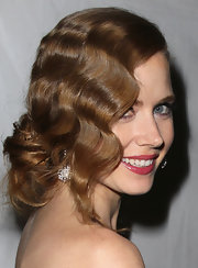 Amy Adams channeled some serious flapper-girl style at the 2013 Golden Globe Awards with these ravishing waves.