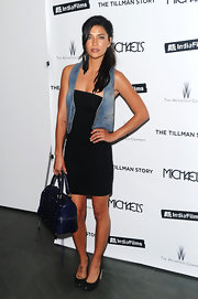 Jessica Szohr has a small angel tattoo on top of her right foot.