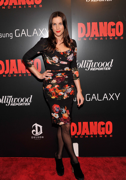More Pics of Liv Tyler Print Dress (1 of 5) - Liv Tyler Lookbook - StyleBistro