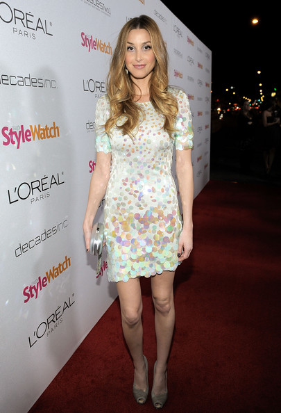 Whitney Port Clothes Actress Whitney Port arrives to 39A Night Of Red Carpet