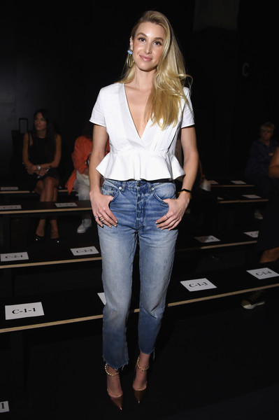 Whitney Port High-Waisted Jeans