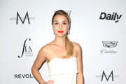 Whitney Port Strapless Dress