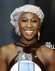 Cynthia Erivo sported an eye-catching braided updo at the special screening of 'Widows.'