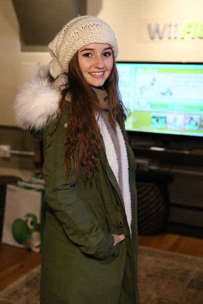 More Pics of Kaitlyn Dever Utility Jacket (1 of 2) - Kaitlyn Dever Lookbook - StyleBistro [wii fit u,clothing,fur,beanie,headgear,fashion,cap,outerwear,knit cap,hat,long hair,nintendo chalet,kaitlyn dever,fitness,fun,exclusive coverage,hands,park city,utah,sundance film festival]