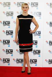 Reese Witherspoon's black heeled pumps topped off her demure look at the 58th BFI London Film Festival.