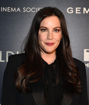 Liv Tyler looked lovely wearing this long hairstyle with feathery ends at the New York screening of 'Wildling.'