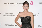 Willa Holland Strapless Dress