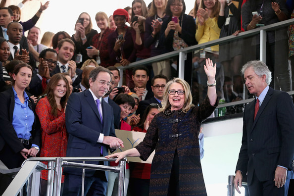 Hillary Clinton Delivers Farewell Address To State Department Employees