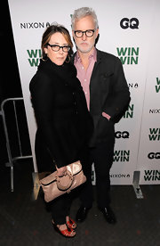 Talia Balsam carried a chic leather clutch at the NYC screening of 'Win Win.'
