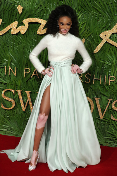 Winnie Harlow Long Skirt