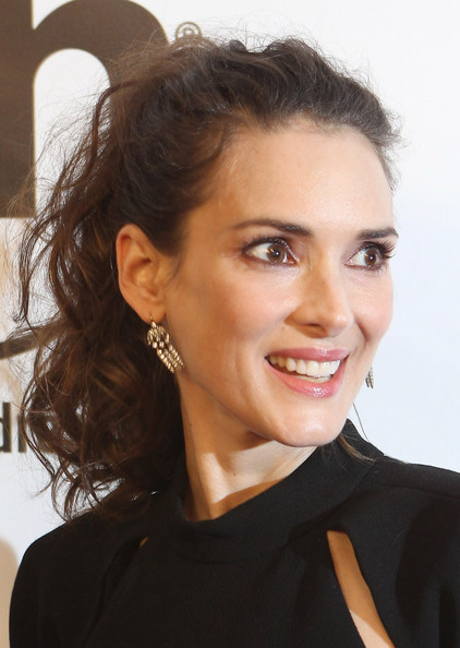 Winona Ryder Ponytail [las vegas premiere of open road films,open road films homefront,movie,hair,face,hairstyle,eyebrow,chin,beauty,forehead,lip,skin,smile,winona ryder,las vegas,planet hollywood resort casino,nevada,united states,premiere]