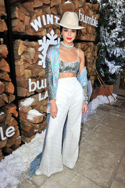 Kendall Jenner at Winter Bumbleland