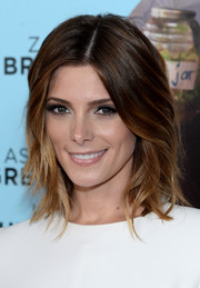 Ashley Greene sported an uber trendy layered hairstyle at the 'Wish I Was Here' screening.