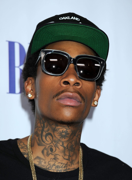 Wiz Khalifa Rectangular Sunglasses