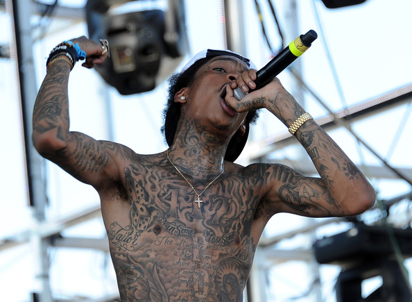 Wiz Khalifa Body Art