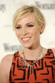 Natasha Bedingfield arrived at the 'Woman's Day' Red Dress Awards wearing a peachy-nude lipstick.