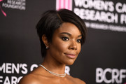 Gabrielle Union went for an edgy short 'do at the Unforgettable Evening gala.