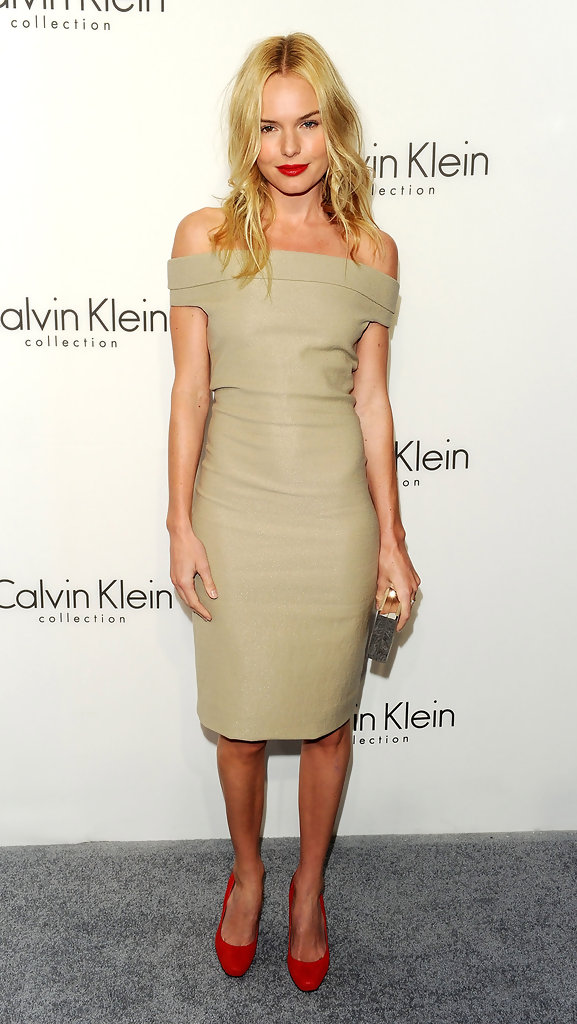 Actress Kate Bosworth attends the Women's Fall 2010 Calvin Klein Collection after party on February 18, 2010 in New York City.