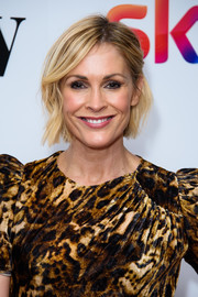Jenni Falconer looked lovely with her short wavy 'do at the 2019 Women in Film & TV Awards.