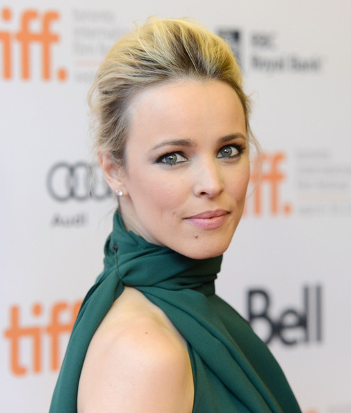 More Pics of Rachel McAdams French Twist (2 of 27) - Rachel McAdams Lookbook - StyleBistro