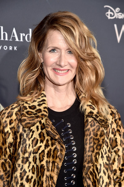 Laura Dern gave us hair envy with her high-volume waves at the premiere of 'A Wrinkle in Time.'