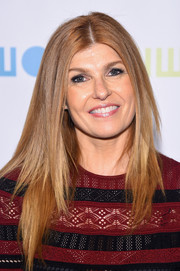 Connie Britton had a sleek straight cut that showed off her golden brown locks