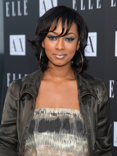 More Pics of Keri Hilson Medium Curls (1 of 9) - Keri Hilson Lookbook - StyleBistro